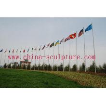 Edelstahl Fahnenmast mit hoher Qualität zum Verkauf