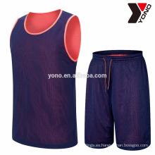 2017 uniformes del uniforme de la escuela de la juventud del uniforme del baloncesto del jersey del baloncesto de la alta calidad del mejor precio