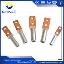 Dtl2 Type Plaque carrée Double trou Bimetal Câbles