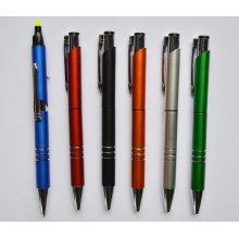 2 в 1 Промотирования Шариковая ручка с маркер Htf057