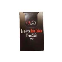 Toallitas húmedas removedor de color de cabello de marca privada