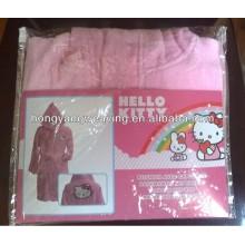 Child Kids Sleepwear Home Bathrobe 100% Cotton