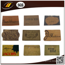 Jeans Leather Label for Garments Fashion Leather Patch