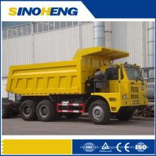 Camion à benne basculante à benne basculante pour la zone d'exploitation minière