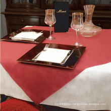 China 100% PP TNT Tablecloths Table Cover Fabric Nonwoven