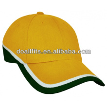 high quality hot sell golf caps with flat embroidery