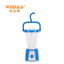 Solar powered light powered LED portable camping lantern for outdoor
