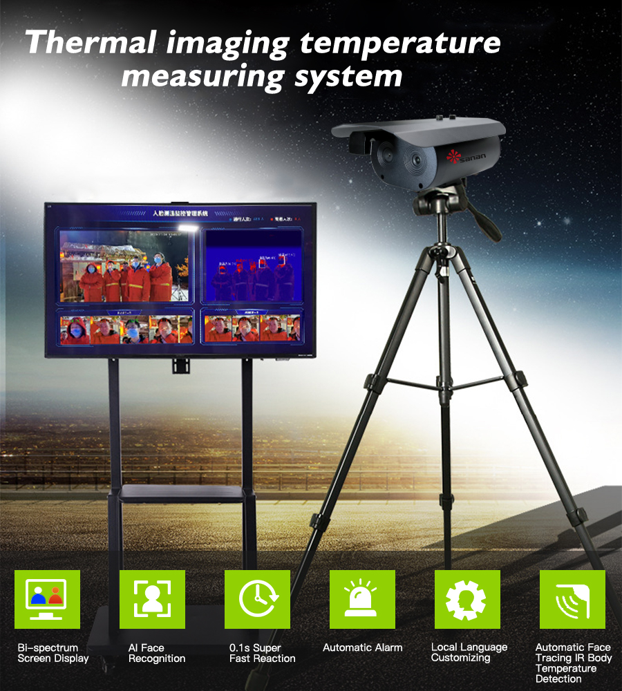 Thermal Imaging Temperature Measuring System