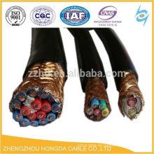 CY Copper Braid Abgeschirmtes flexibles PVC-Steuerkabel