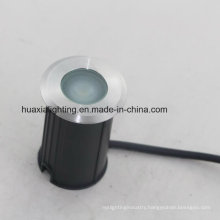 Stainless Steel Diameter 42mm/52mm/62mm 1W 3W LED Inground Light Ce RoHS Approved