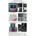 14 anos Fabricante T-shirt digital Máquina de impressão com transferência de calor com gaveta