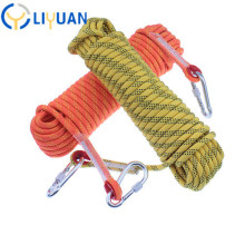 Hot Sale Braided Nylon Static Kern Mantle Climbing Rope Outdoor Static