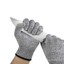 Антискользящие перчатки HPPE для деревообработки