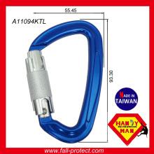 Nouveau produit Twist Lock Aluminium Mousqueton Avec CE