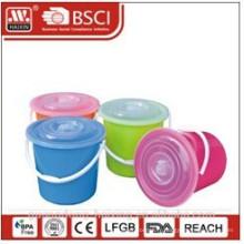 seau en plastique W/couvercle L 13 / 16L / 20L