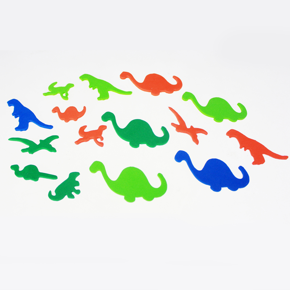 Foam fish shape sticker