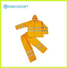 Reflective PVC Polyester Rainsuit (Rpp-029)