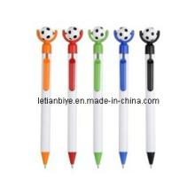 Новый Продукт! ! ! Пластиковая ручка с Футбол (ЛТ-Y029)