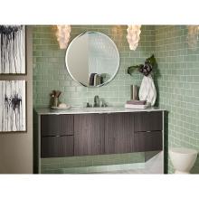 Лаконичный дизайн тщеславия для ванной с витриной