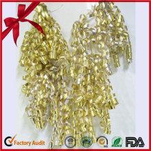 Metallic Glitter Ribbon Pre Made Curling Ribbon Bögen