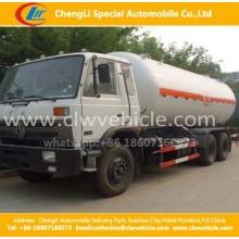 Heavy Duty 6 * 4 Dongfeng caminhão LPG 24800liters Caminhão-tanque de GLP