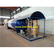 50cbm 25MT cocción de gas Skid Plants