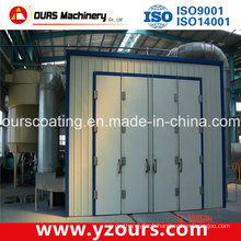 Small Powder Coating Spray Booth for Coating Line