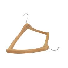 Manufacturer Directly luxury wooden hangers logo custom brand clothes hanger
