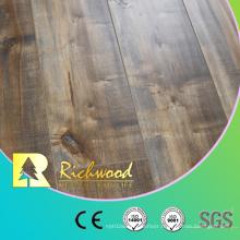 Parquet HDF Vinyl Plank Oak V-Grooved Laminate Laminated Wood Flooring