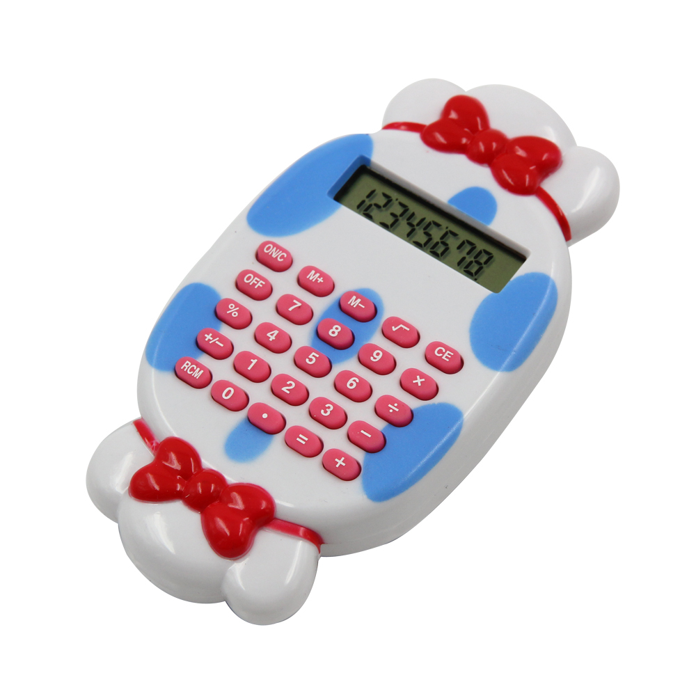 Cute Candy Shape Pocket Calculator with Maze Game