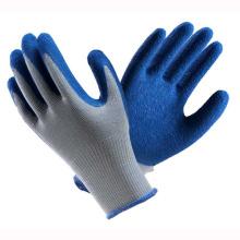 (LG-017) Gants de travail de sécurité protectrice au travail Latex Coated
