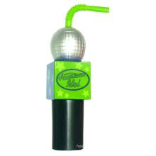 Plastic Water Bottle, PE Bottle, Microphone Water Bottle