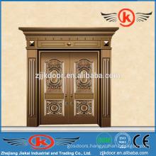 JK-C9025 best brass copper coated door nice antique design