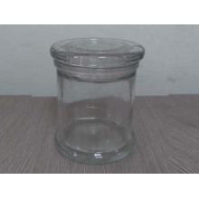 Glass Candle Jar (A-1017) for Daily Use