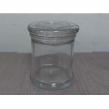 Frasco de vidro da vela (A-1017) para o uso diário