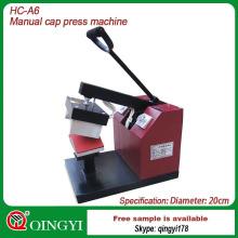 Heißpressmaschine, die beim Kappentransfer verwendet wird