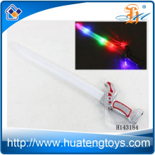 Wholesale Light up Plastic Sword Toy Flashing Stick with music and ball for kids H143184
