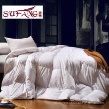 2017 calidad de lujo directo de la fábrica Hotel Home edredón edredón de pluma de ganso 100%