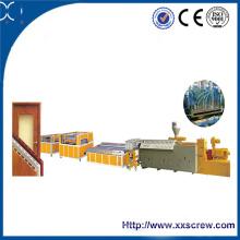 Производство ДПК плит из вторичного материала