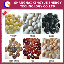 high hardness high polished pebble wash stone colored river stones bulk