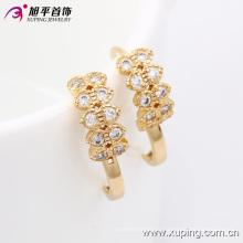 29951 Xuping Hot vente femmes cadeaux avec des boucles d'oreilles en or 18 carats