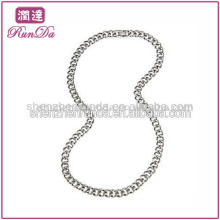 New Product For 2013 Stainless Steel Chain 9.5mm Curb Link Stainless Steel Necklace (24-inch)