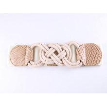 Customize Fashion Buckles Ceintures et femmes ceinture élastique en coton