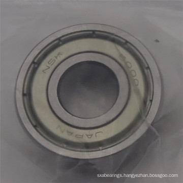 NSK deep groove ball bearings 6000ZZ ball bearing drawer slides