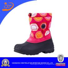 Мода детей красочные Оксфорд зимний снег сапоги CS-02