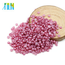 ABS Dome Flatback Half Imitation Pearl Beads for Wedding Dress and Nail Arts 2mm to 25mm , Z21-Amethyst