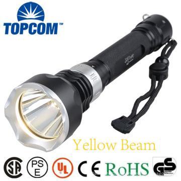 1000lumen T6 Lampe LED U-Boot Tauchen Taschenlampe Gelbe Strahl Unterwasser-Fackel