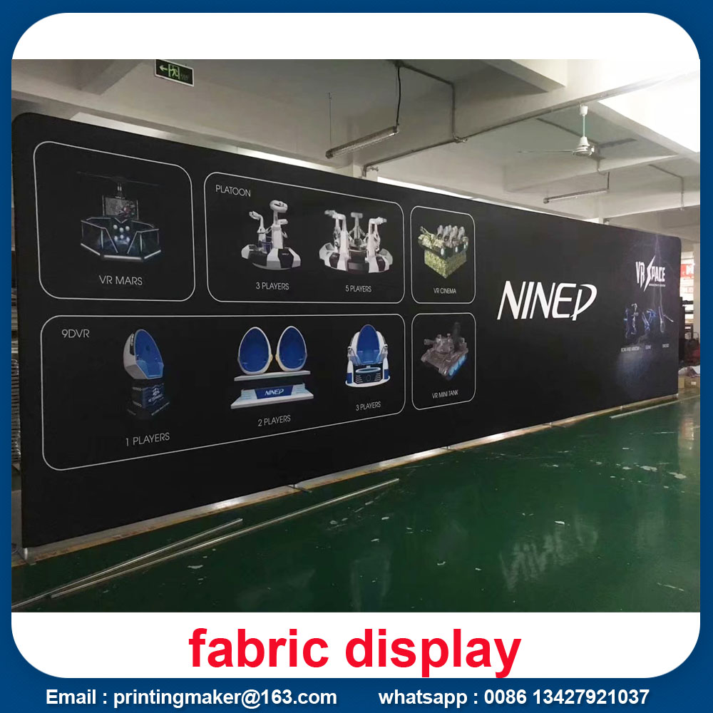 Straight Fabric Displays