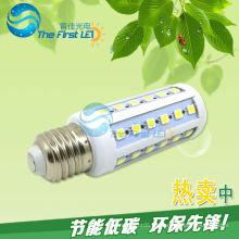 5050SMD llevó la luz del maíz 7w AC220v 90-260v e27 e14 blanco fresco caliente