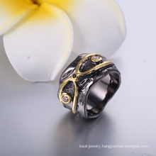 High Quality Simple Gold Ring Design Cheap Price Engagement Ring for Party